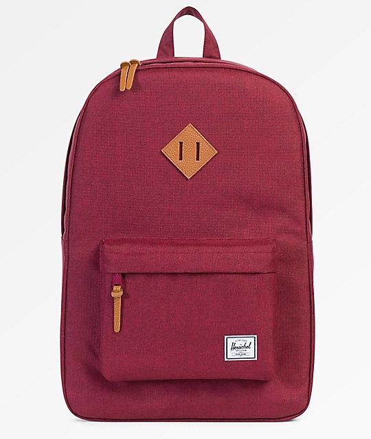 Herschel Supply Co. Heritage Winetasting Crosshatch Backpack   Zumiez.ca 1f6d3655f7