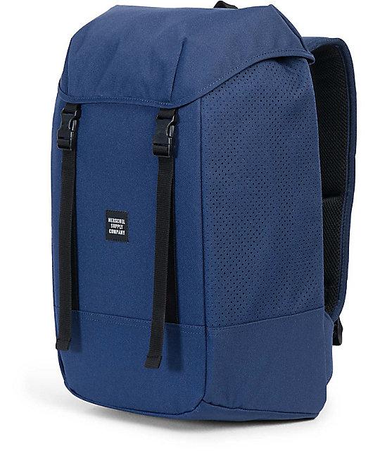 Herschel Supply Co. Iona Aspect Twilight 24L Blue   Black Backpack ... bf7864cf4d24f