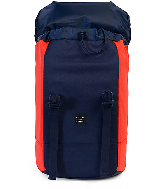 b867eb57290 Iona Peacoat Hot Coral 24L Backpack  Herschel Supply Co. Iona Peacoat Hot  Coral 24L Backpack