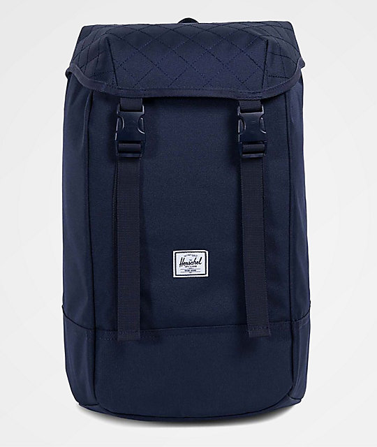 a2ba212569 Herschel Supply Co Iona Quilted Peacoat 24l Backpack Zumiez Ca