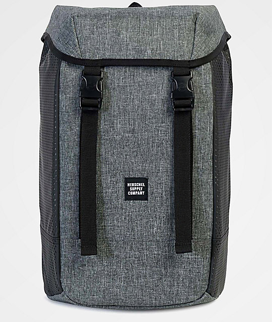 1bf47e3d12b Herschel Supply Co. Iona Raven Crosshatch Aspect 24L Backpack ...