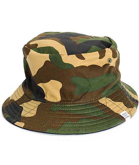 Lake Reversible Bucket Hat  Herschel Supply Co. Lake Reversible Bucket Hat 63e17f66485c