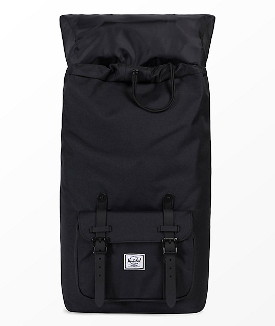 Herschel Supply Co. Little America Black & White 25L Backpack
