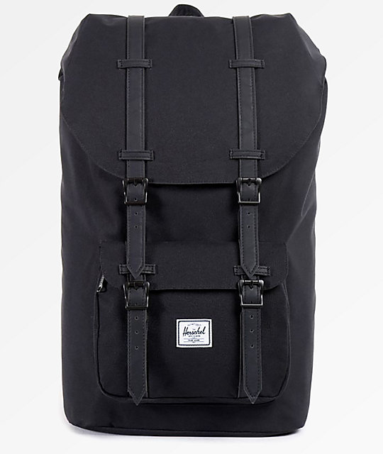305f6926bf2 Herschel Supply Co. Little America Black   Black 25L Backpack ...
