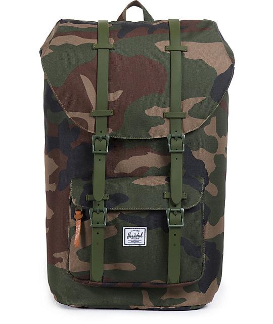 c3e0283aac Herschel Supply Co. Little America Camo Weather 24L Backpack