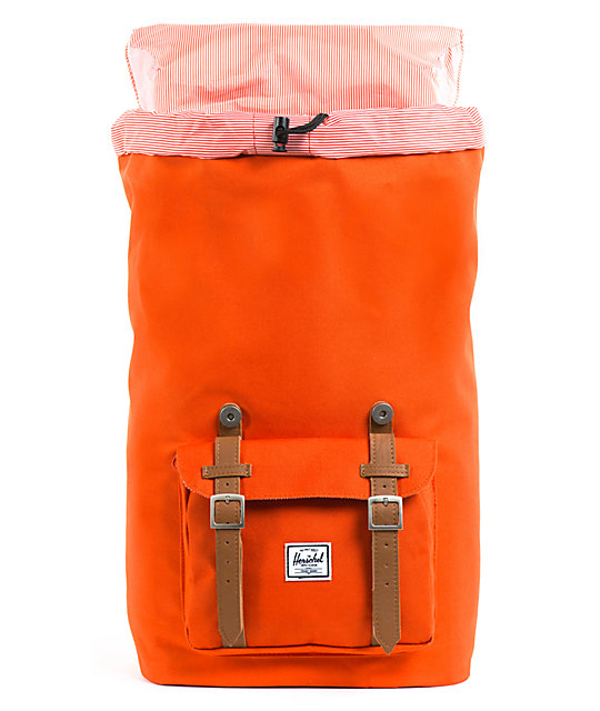 Herschel Supply Co. Little America Camper Orange Backpack