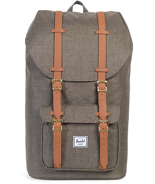 d1e625cae9b Herschel Supply Co. Little America Canteen Crosshatch 25L Backpack ...
