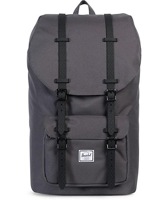 Herschel Supply Co. Little America Charcoal 25L Backpack  08795adfbf9fd