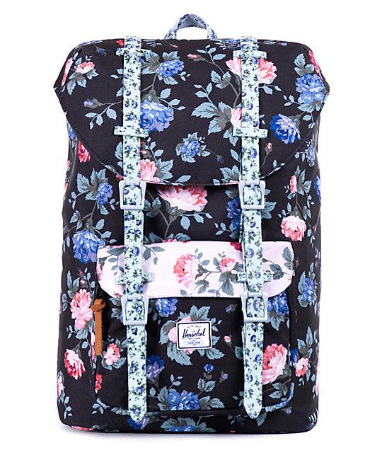 Herschel Supply Co. Little America Floral 14.5L Backpack  de7a91b1539b5