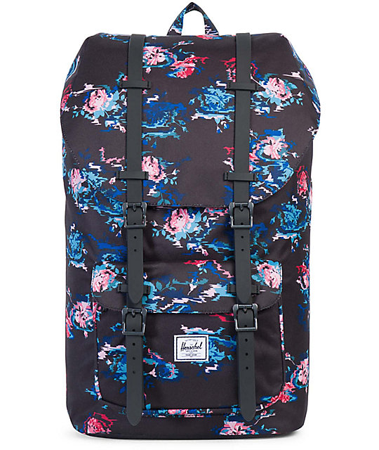 Herschel Supply Co. Little America Floral Blur 17L Backpack