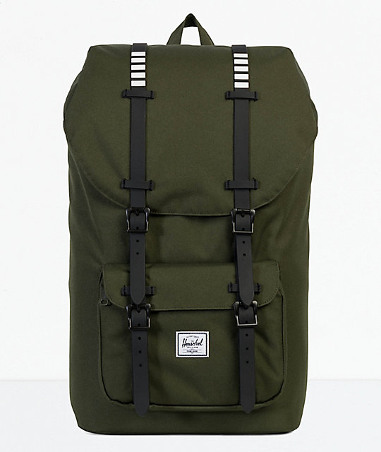 Herschel Supply Co. Little America Forest Night 25L Backpack  368c24f8539fd