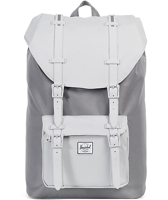 fdd22abaee90 Herschel Supply Co. Little America Lunar Grey Mid 17L Backpack