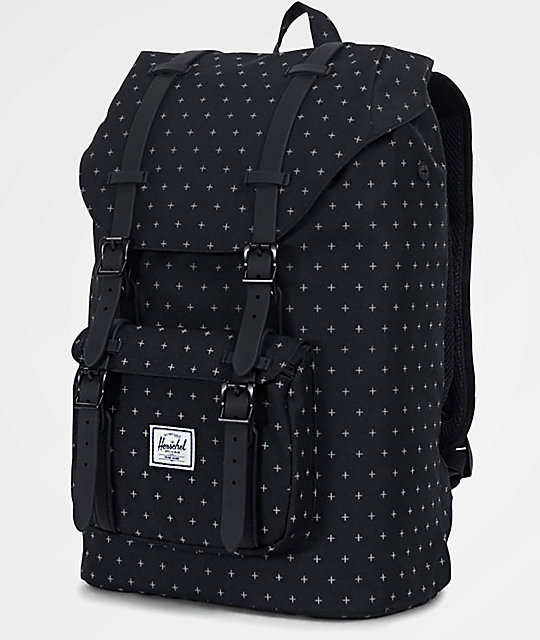 Herschel Supply Co. Little America Mid Gridlock 17L Backpack