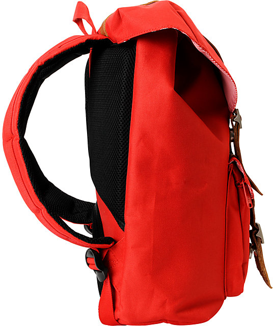 Herschel Supply Co. Little America Mid-Volume Red Backpack