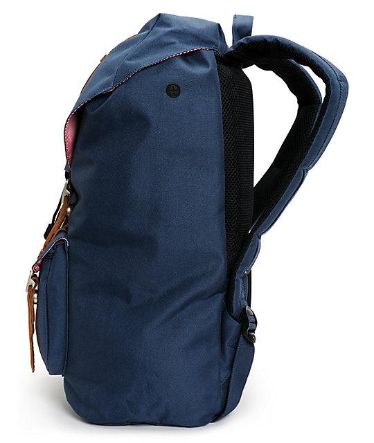 Little America Navy Blue 24L Backpack  Herschel Supply Co. Little America  Navy Blue 24L Backpack 4b30c3ded7b28