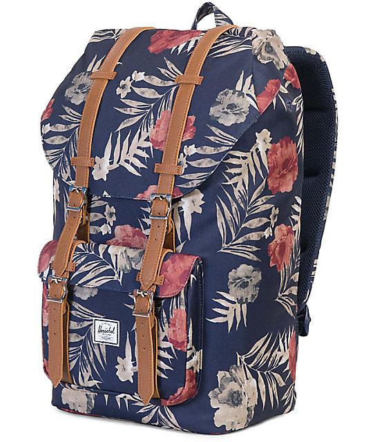 2b69a2351b6 Little America Peacoat Floria 25L Backpack  Herschel Supply Co. Little  America Peacoat Floria 25L Backpack ...