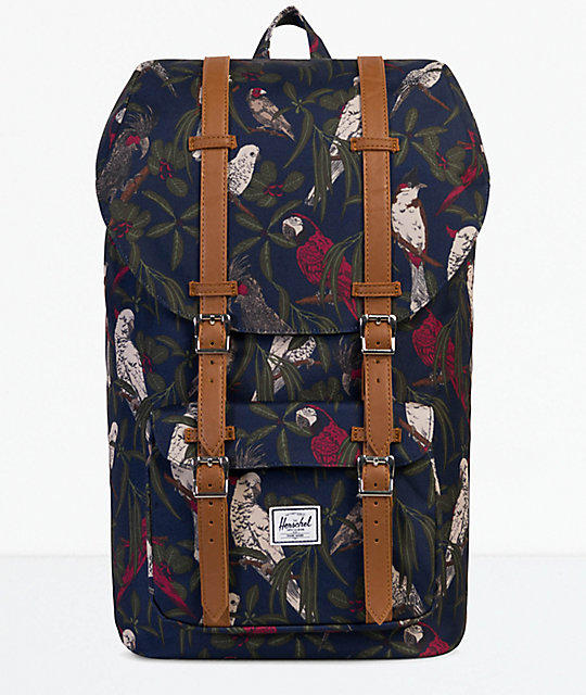 7ae88a12d1f Herschel Supply Co. Little America Peacoat Parlour 25L Backpack