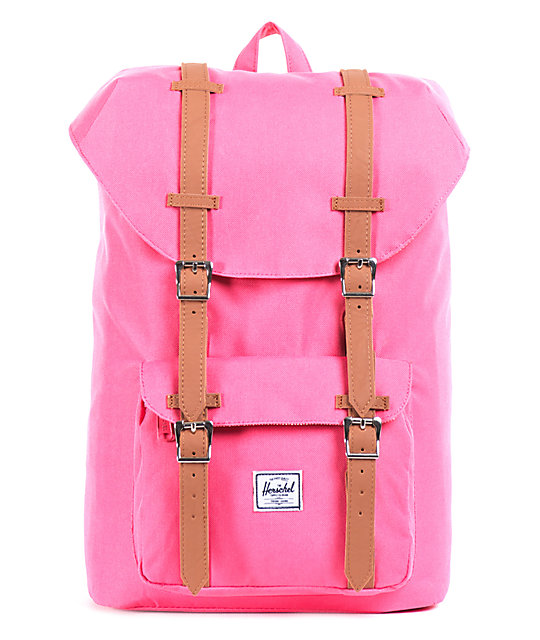 dc9dc6c8042fe Herschel Supply Co. Little America Pink Mid-Volume 7L Backpack