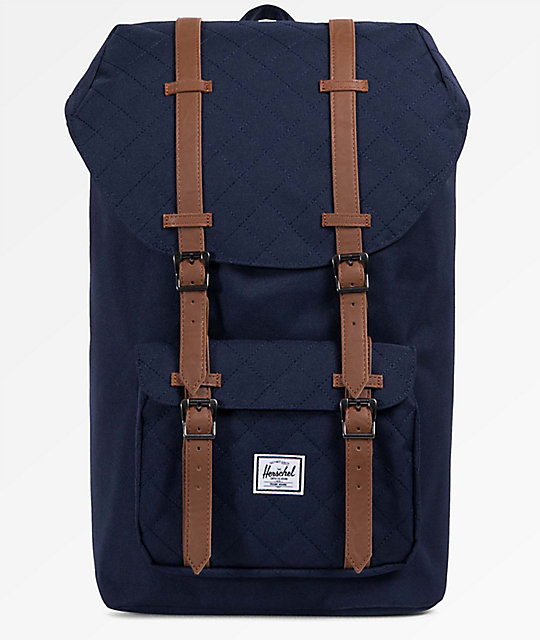 6617387feb7 Herschel Supply Co. Little America Quilted Peacoat 25L Backpack ...