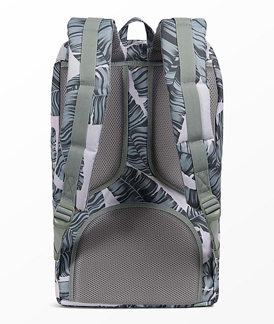 Herschel Supply Co. Little America Silver Birch Palm 25L Backpack