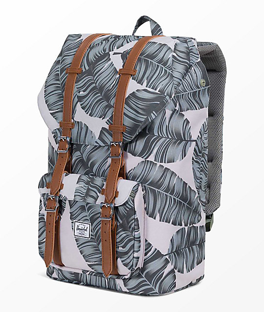Herschel Supply Co. Little America Silver Birch Palm 25L mochila