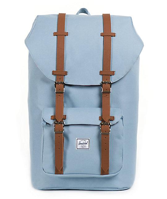 81e3cb7e46f Herschel Supply Co. Little America Steel Blue 24L Backpack   Zumiez