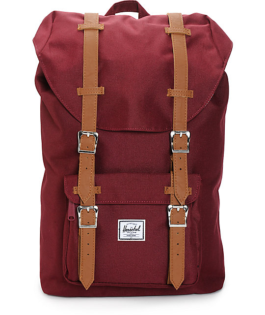 0162a6cba86 Herschel Supply Co. Little America Windsor Wine 16.5L Backpack