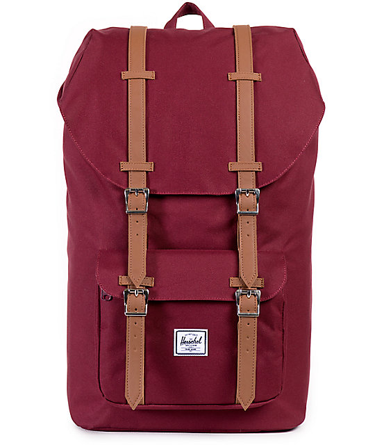 b26de93c0d9 Herschel Supply Co. Little America Windsor Wine 23.5L Backpack ...