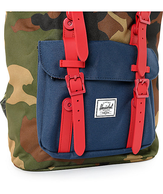 4c895bf460 Little America Woodland Camo 25L Backpack  Herschel Supply Co. Little  America Woodland Camo 25L Backpack ...
