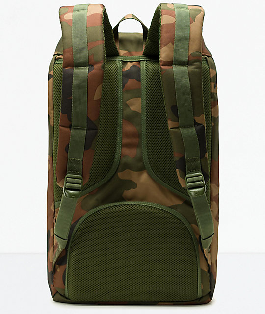 502a62b0678 Little America Woodland Camo Backpack  Herschel Supply Co. Little America  Woodland Camo Backpack ...