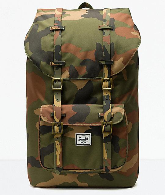09e23c4a5d1 Herschel Supply Co. Little America Woodland Camo Backpack