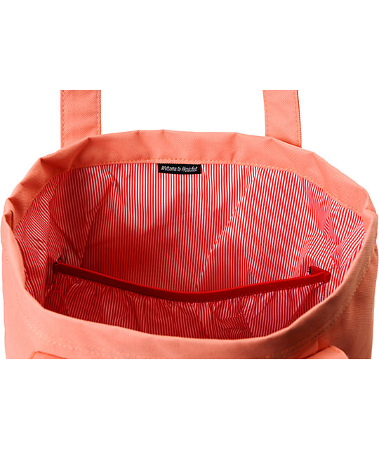Herschel Supply Co. Market Coral Tote Bag