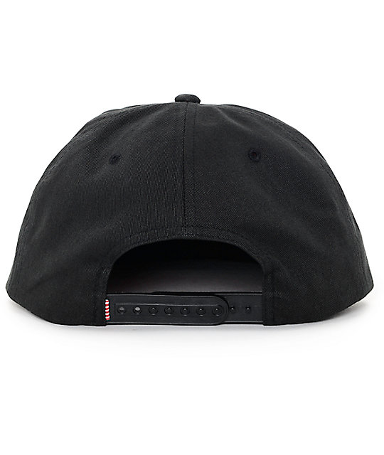 ... clearance mosby unstructured black snapback hat herschel supply co.  mosby unstructured black snapback hat b7f64 3f77adae563e
