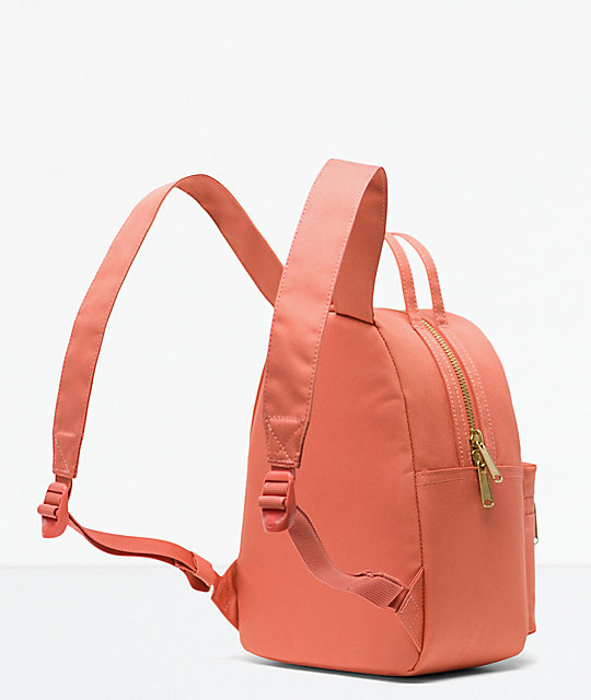 Herschel Supply Co. Nova Apricot Brandy Mini Backpack
