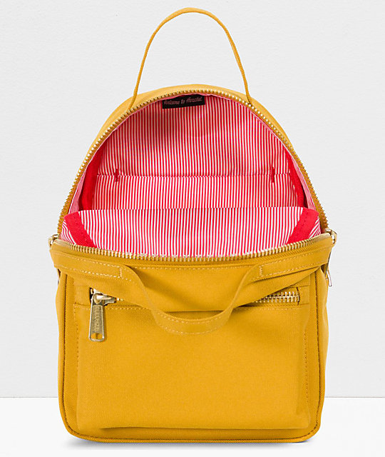 Herschel Supply Co. Nova Arrowhead Yellow Mini Backpack