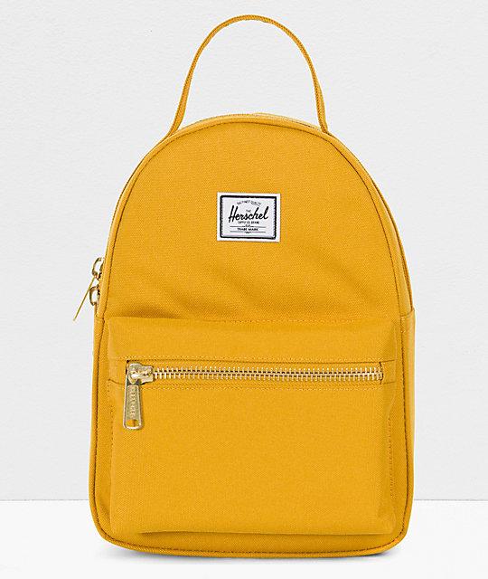Herschel Supply Co. Nova Arrowhead Yellow Mini Backpack  bf316434ef097