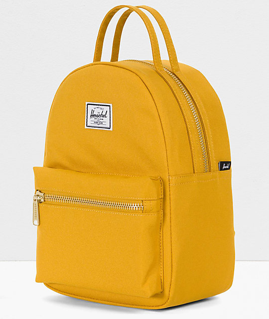 Herschel Supply Co. Nova Arrowhead mini mochila  amarilla