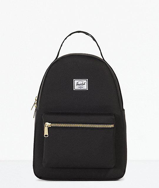 Herschel Supply Co. Nova Extra Small Black Mini Backpack  5927e523ce44d