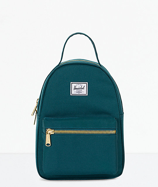 47f48e630c1b Herschel Supply Co. Nova Extra Small Deep Teal Mini Backpack