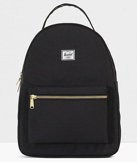 Herschel Supply Co. Nova Mid Black Backpack  6f50332f668c8