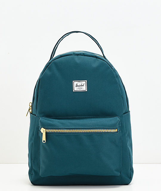 aa1234a80444 Herschel Supply Co. Nova Mid Deep Teal Backpack