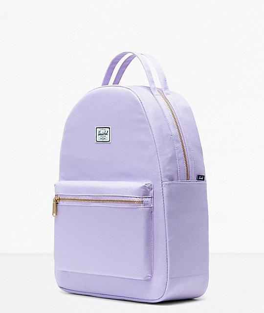 cb769922961 Nova Mid-Volume Lavendula Crosshatch Backpack  Herschel Supply Co. Nova Mid- Volume Lavendula Crosshatch Backpack ...