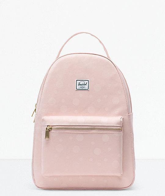 4e66a1ed880 Herschel Supply Co. Nova Mid-Volume Polka Cameo Rose Backpack