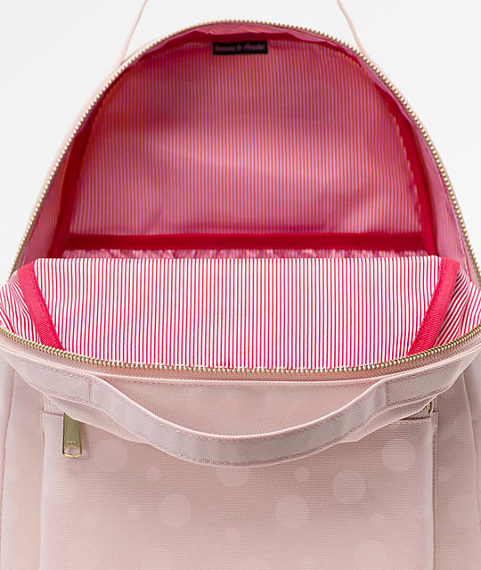 Herschel Supply Co. Nova Mid-Volume Polka Cameo mochila rosa