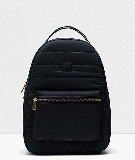Herschel Supply Co. Nova Mid mochila acolchada negra
