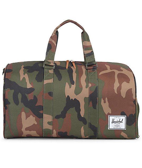 Novel 42 5l Woodland Camo Duffle Bag