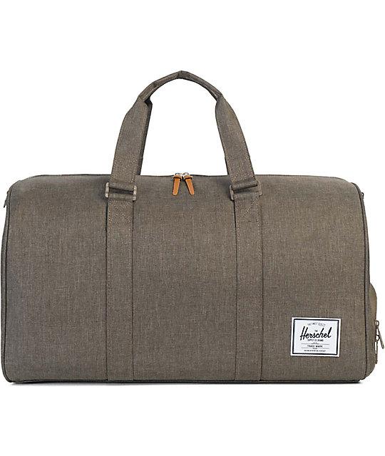 c7f53548dde Herschel Supply Co. Novel Canteen Crosshatch 42.5L Duffle Bag ...