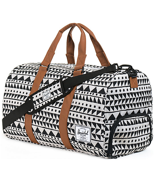 4eef3ad960ab Herschel Supply Co. Novel Chevron Duffel Bag