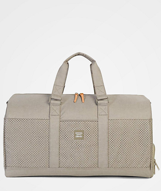 96fc0e7978 Herschel Supply Co. Novel Dark Khaki Crosshatch 42.5L Duffel Bag ...