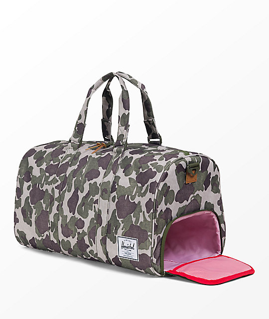Herschel Supply Co. Novel Frog Camo 42.5L Duffle Bag